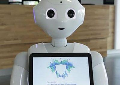 Gemeente zet robot in voor hospitality